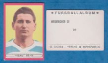 Meidericher Helmut Rahn West Germany 70